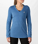 Women's adidas Aeroknit Long-Sleeve Training Shirt