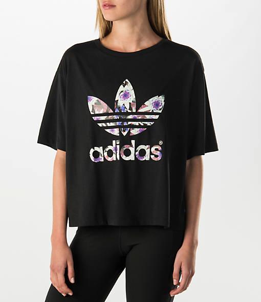 womens adidas t shirts l d