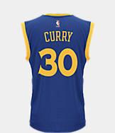 Men's adidas Golden State Warriors NBA Stephen Curry Replica Jersey