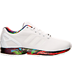 Men's adidas ZX Flux Print Casual Shoes