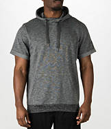 Men's adidas Cross Up Short-Sleeve Hoodie