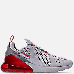 나이키 맨 Mens Nike Air Max 270 Casual Shoes,Wolf Grey/University Red/Ember Glow