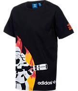 Boys' adidas Star Wars Fire Stormtrooper T-Shirt
