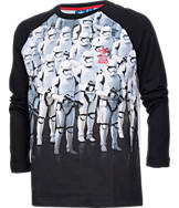 Boys' adidas Star Wars Stormtrooper Long-Sleeve T-Shirt