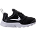 Right view of Boys' Toddler Nike Presto Fly Casual Shoes in Black/White