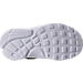 Bottom view of Boys' Toddler Nike Presto Fly Casual Shoes in Black/White