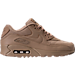 Right view of Men's Nike Air Max 90 Ballistic Running Shoes in Mushroom/Mushroom/Khaki