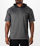 Men's adidas S1 Blocked Short-Sleeve Hoodie