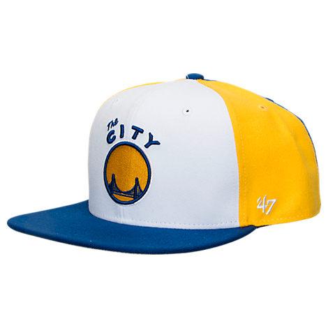 New Era Golden State Warriors NBA Amble Snapback Hat