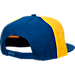Back view of New Era Golden State Warriors NBA Amble Snapback Hat in Pinwheel