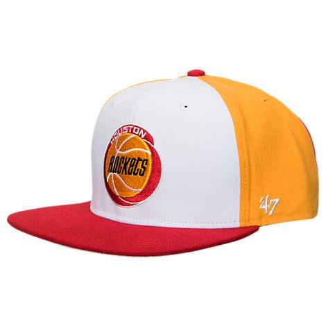 New Era Houston Rockets NBA Amble Snapback Hat