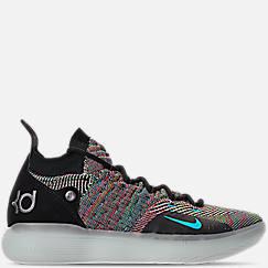 나이키 맨 KD11 농구화 - Mens Nike Zoom KD11 Basketball Shoes,Black/Chlorine Blue/Persian Violet