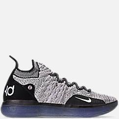 나이키 맨 KD11 농구화 그레이/레이서블루, AO2604 006 - Mens Nike Zoom KD11 Basketball Shoes,Black/White/Racer Blue/Bright Crimson