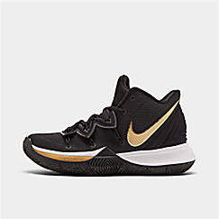 나이키 맨 카이리5 농구화 AO2918-007 Mens Nike Kyrie 5 Basketball Shoes,Black/Metallic Gold/White