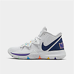 나이키 맨 카이리5 농구화 AO2918-101 Mens Nike Kyrie 5 Basketball Shoes,White/Deep Royal Blue/Glacier Blue