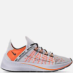 나이키 맨 Mens Nike EXP-X14 SE JDI Casual Shoes,White/Total Orange/Black/Wolf Grey