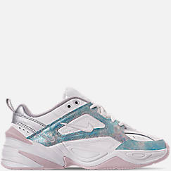 Womens 나이키 Nike M2K Tekno Casual Shoes,Summit White/Icey Blue/Barely Rose