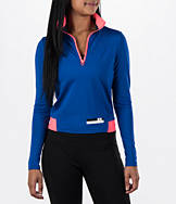 Women's adidas Stellasport Climawarm Quarter-Zip Long Sleeve Jacket