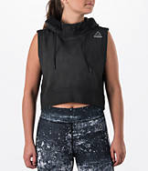 Women's Reebok Combat Glory Sleeveless Hoodie