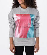 Women's adidas Stella McCartney Stellasport Metallic Crew Sweatshirt