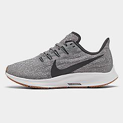 나이키 맨 Mens Nike Air Zoom Pegasus 36 Running Shoes,Gunsmoke/Oil Grey/White/Gum Light Bright