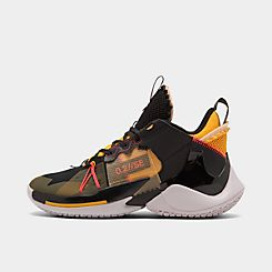 나이키 Nike Mens Jordan Why Not? Zer0.2 SE Basketball Shoes,Black/Flash Crimson/Amarillo/Vast Grey