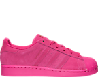 Girls' Grade School adidas Superstar Monochrome Casual Shoes
