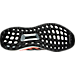 Bottom view of Women's adidas Ultra Boost Running Shoes in Multi/Peach/Black