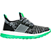 Right view of Boys' Grade School adidas Pure Boost ZG Prime Running Shoes in Black/Grey