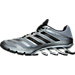 Left view of Men's adidas Springblade Ignite Running Shoes in Grey/Black/Solar Blue