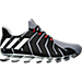Right view of Men's Springblade Pro Running Shoes in Grey/Silver Metallic/Core Black