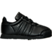 Right view of Boys' Toddler adidas Samoa Casual Shoes in Black/Black