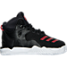 Right view of Boys' Toddler adidas D Rose 7 Basketball Shoes in Core Black/Scarlet Red
