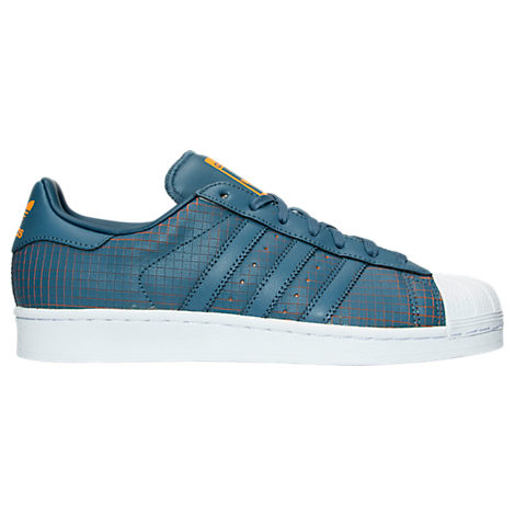 Men's adidas Superstar Scored Leather Casual Shoes