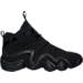 Right view of Men's adidas Crazy 8 Retro Basketball Shoes in Black/Black/Black
