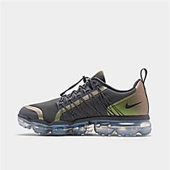 나이키 맨 Mens Nike Air VaporMax Run Utility Running Shoes,Dark Grey/Amarillo/Black