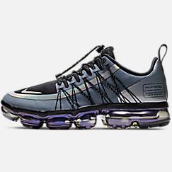 나이키 맨 Mens Nike Air VaporMax Run Utility Running Shoes,Blue Dusk/Black/Anthracite