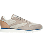 Men's Reebok Classic Leather Fleck Casual Shoes