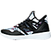 Left view of Women's Reebok Hayasu Casual Shoes in Black/White/Graphic