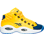 Boys' Grade School Reebok Question Mid Basketball Shoes