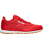 Kids' Grade School Reebok Classic Leather Casual Shoes