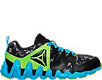 Boys' Preschool Reebok ZigTech Big & Fast Fire Running Shoes