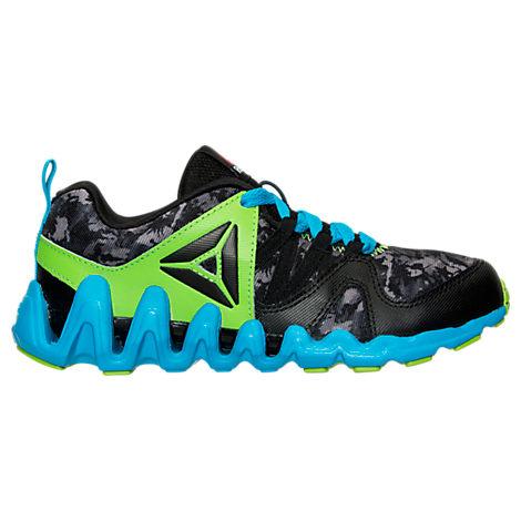 Boys' Preschool Reebok ZigTech Big & Fast Fire Running Shoes