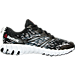 Right view of Boys' Grade School Reebok Twist Running Shoes in Black/Alloy Steel/White