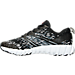 Left view of Boys' Grade School Reebok Twist Running Shoes in Black/Alloy Steel/White