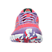 Front view of Girls' Grade School Reebok Twist Running Shoes in Fearless Pink/Smoky Violet