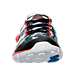 Front view of Boys' Grade School Reebok ZPump 2.0 Running Shoes in Stars/Stripes/Multi