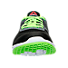 Front view of Boys' Preschool Reebok ZPrint Gradient Running Shoes in Solar Green/Black/White