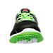 Front view of Boys' Grade School Reebok ZPrint Gradient Running Shoes in Solar Green/Black/White