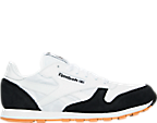 Kids' Grade School Reebok Classic Leather Perfect Split Casual Shoes